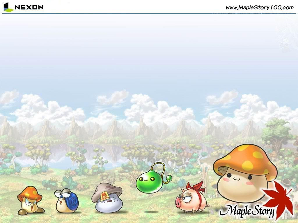 Maplestory Wallpaper 01 Jpg 1024 768 Maple Story Mmo Wallpaper