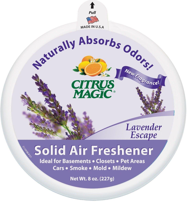 Citrus Magic 616472347 Solid Air Freshener, Lavender