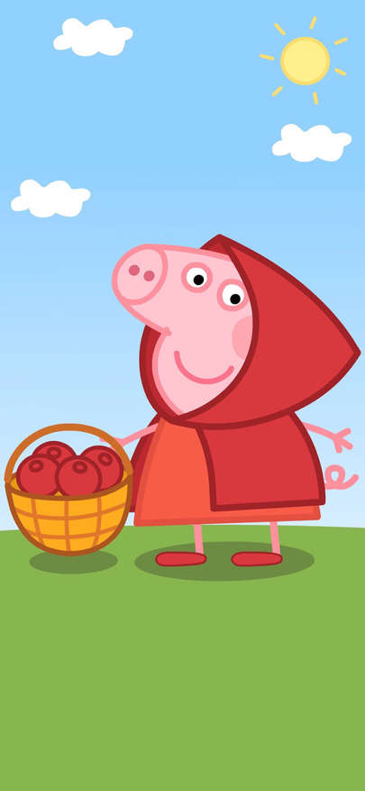 Admire of American cartoon piggy is strange Wallpapers for
