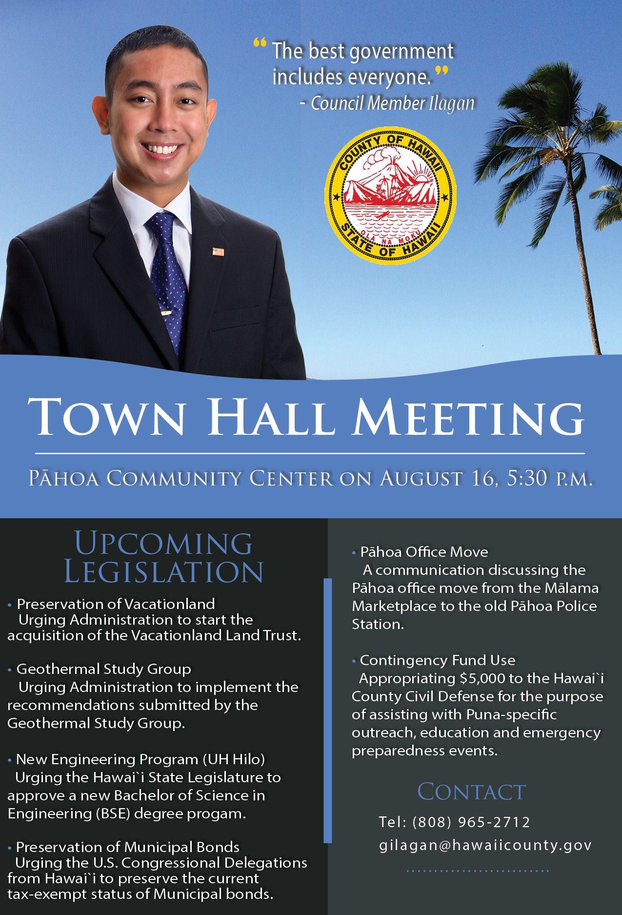 Town Hall Meeting Flyer FINAL | new | Pinterest | Town hall ...