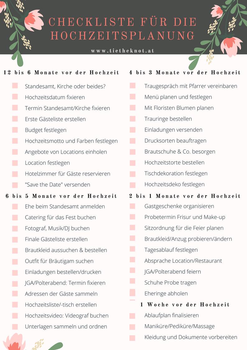 Checkliste Fur Die Hochzeit Checkliste Als Download Zum Ausdrucken Checkliste Hochzeit Checkliste Fur Hochzeit Hochzeitsplanung