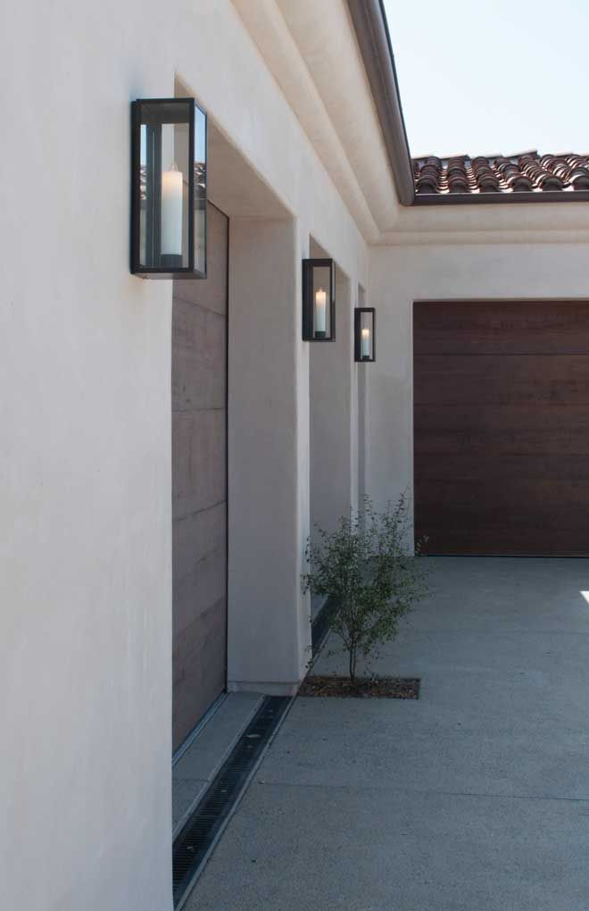 Ueco Inspired Curated Exterior Garage Doors Are