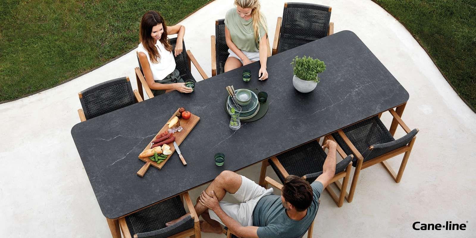 Cane Line Gartenmobel Teak Esstisch Gartenmobel Hochwertige Gartenmobel