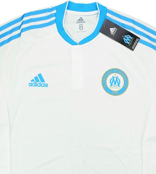 135c1bf1a 2015-16 Olympique Marseille Adizero Player Issue Home L S Shirt  BNIB  M -  New Products - Classic Football Shirts