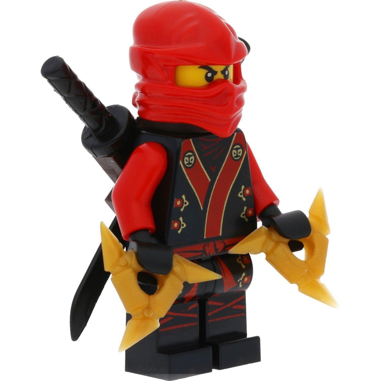 c58ad83149486 LEGO Ninjago mini figure Custom Kai Kimono incl. GALAXYARMS and LEGO  weapons: Amazon.co.uk: Toys & Games