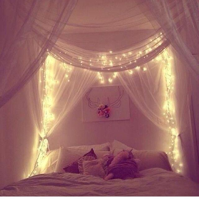 Another lighted canopy & Another lighted canopy | Home Decor Ideas | Bedroom lighting ...