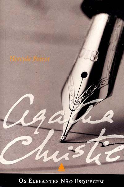 Os Elefantes Nao Esquecem Agatha Christie Agatha Christie Elefantes Listas De Livros