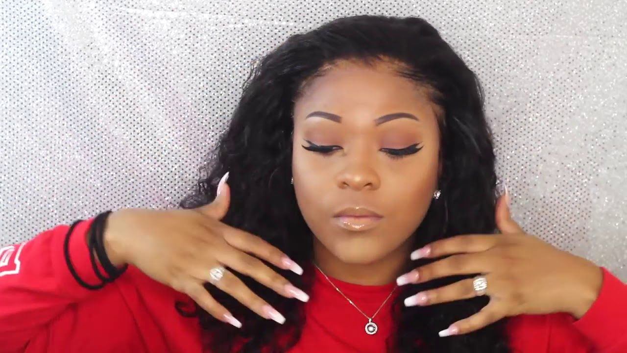 REAL Glueless Full Lace Wig Install High Bun No Glue No