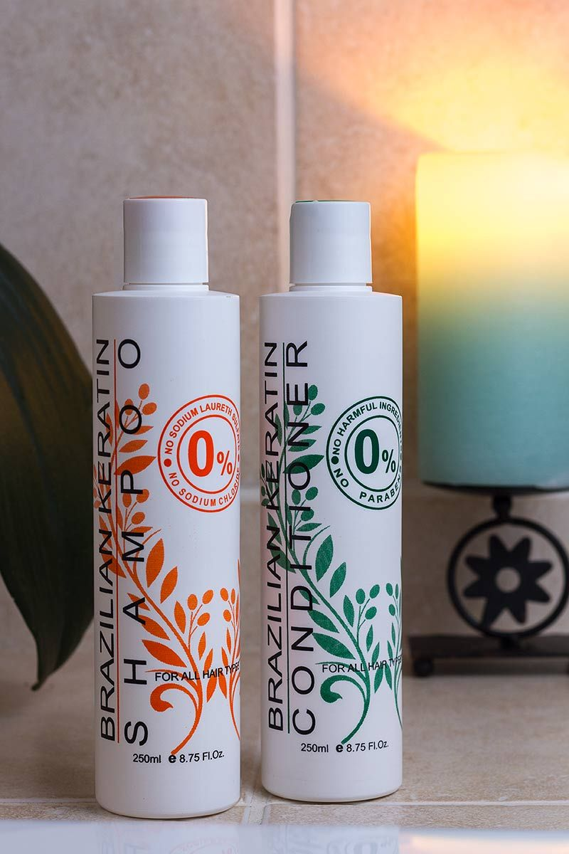 Brazilian Keratin shampoo and conditioner REVIEWED by