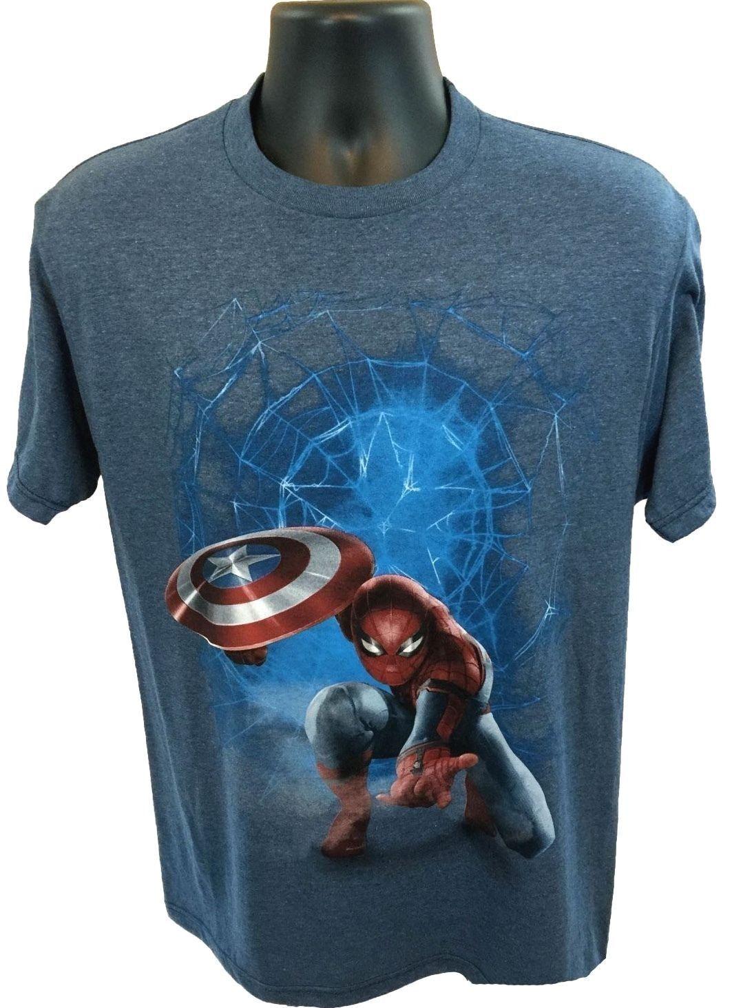 3d32cac7 New MARVEL SPIDERMAN Civil War Mens T-Shirt Size Medium - Visit to grab an  amazing super hero shirt now on sale!