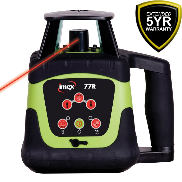 Imex 77R Rotating Laser Horizontal Only http
