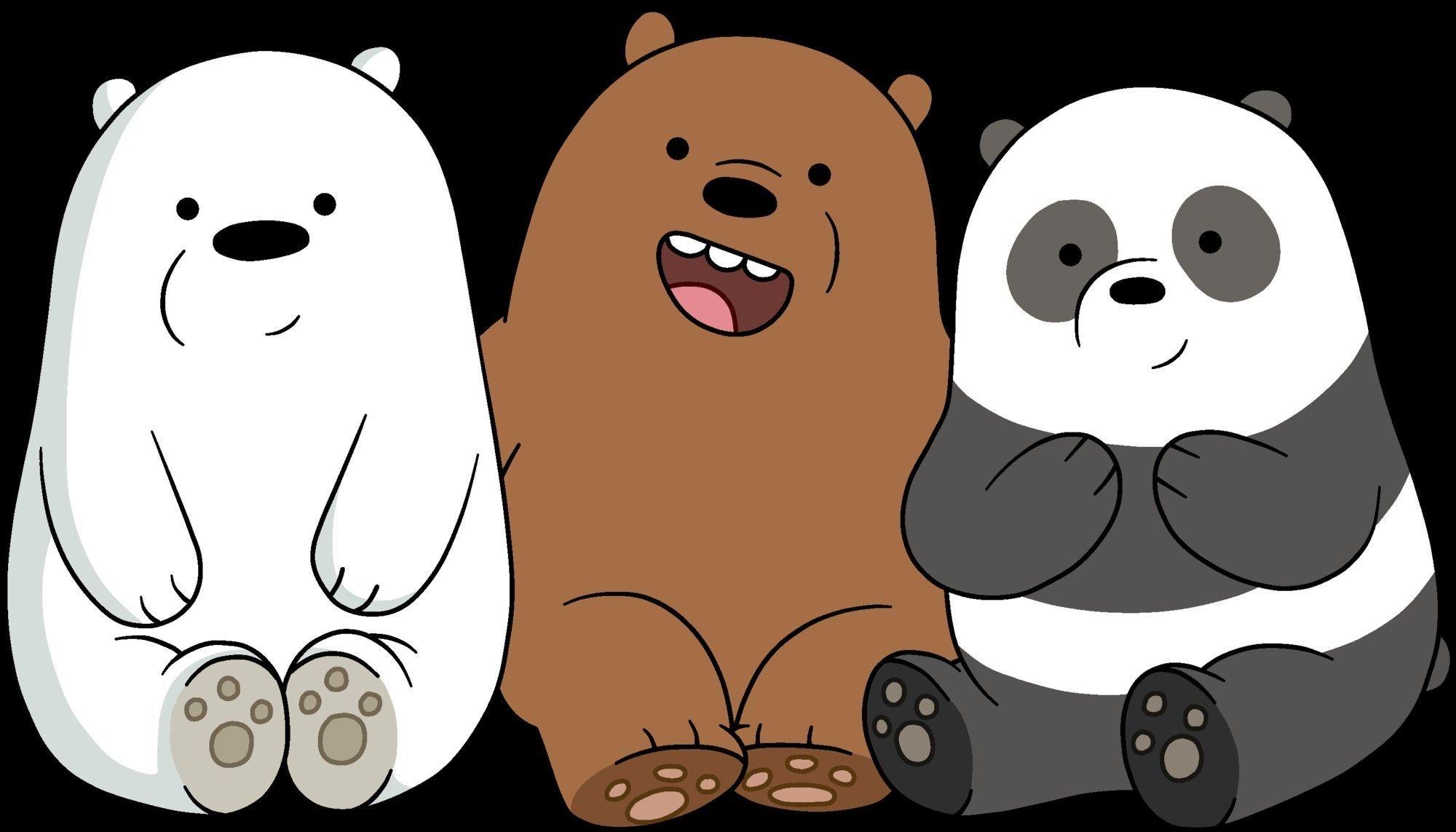 Unique We Bare Bears Wallpaper Hd Desktop In 2019 We Bare Intended For We Bare Bears Wallpaper Hd Di 2020 Gambar Hewan Lucu Boneka Hewan Beruang Kutub
