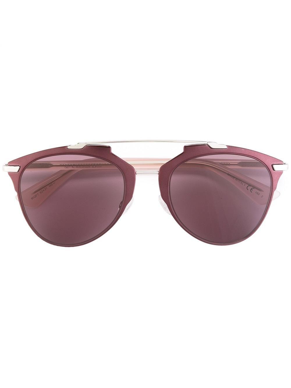 15ff08f1fe11 Pink acetate and metal  Reflected Burgun  sunglasses from Dior Eyewear