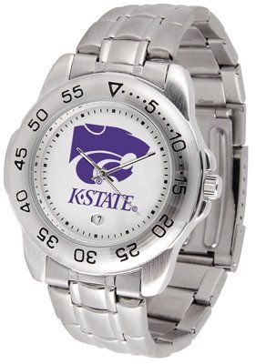 Kansas State University Wildcats Sport Steel Band - Men's - Men's College Watches by Sports Memorabilia. $50.76. Makes a Great Gift!. Kansas State University Wildcats Sport Steel Band - Men's