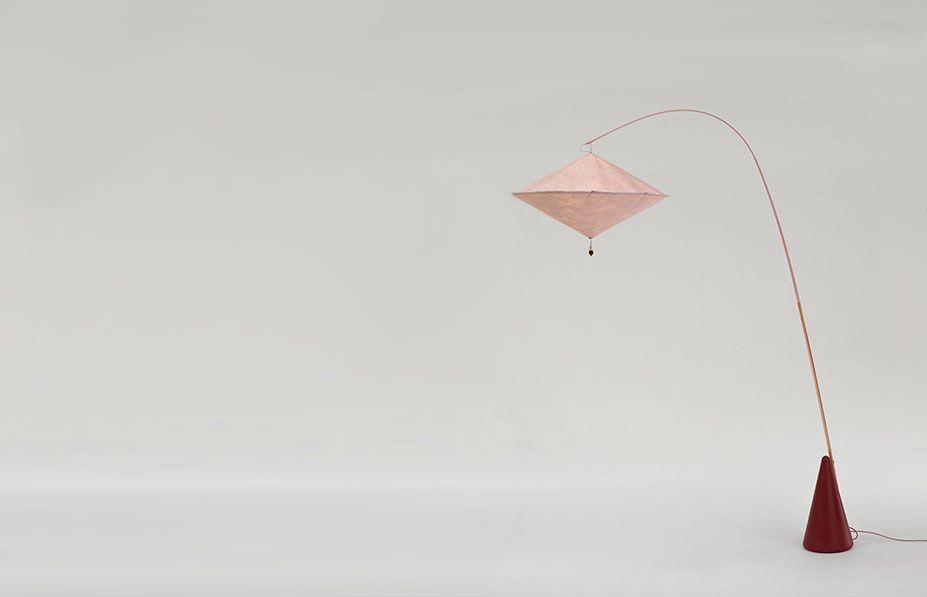 Galerie Kreo Launches London Gallery / Aoyama lamp by Studio Wieki Somers | Yellowtrace