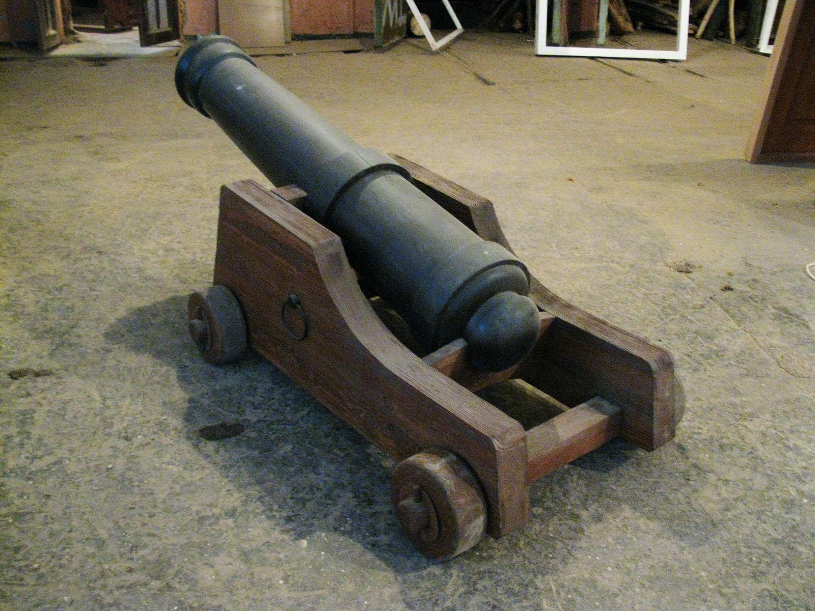Декоративная пушка своими руками фото 864