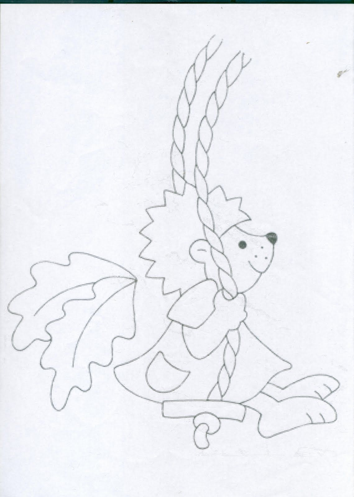 Mesetarhaz Hintazo Molus Es Suni Fall Paper Crafts Coloring Pages Applique Templates