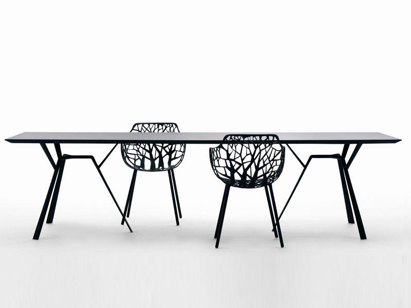 Fast Sedie Da Giardino.Aluminium Garden Table Radice Quadra Garden Table Fast