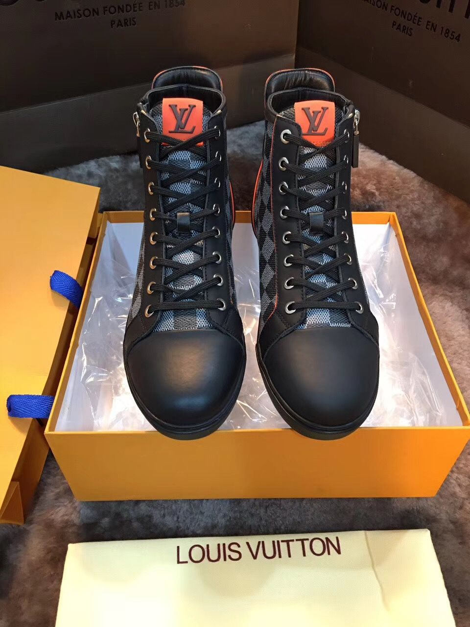 louis vuitton LV sneakers boots top