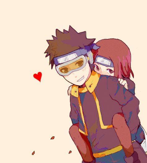 Obito e Rin, melhor casal (com imagens)   Personagens de ...