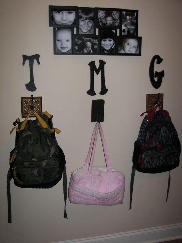 backpack organization idea