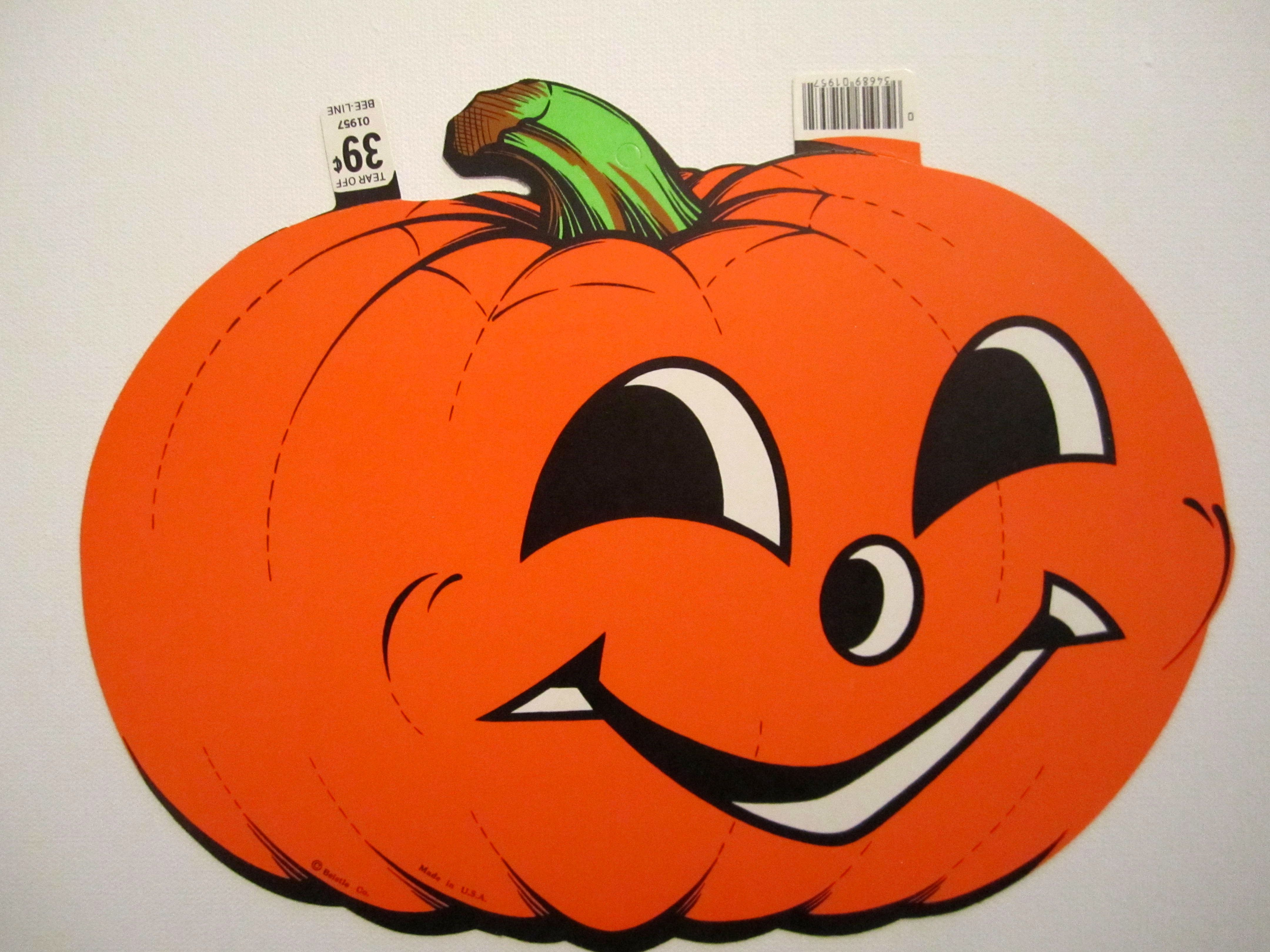 vintage 1980s beistle halloween cut out 39 cents - Halloween Cutout Decorations