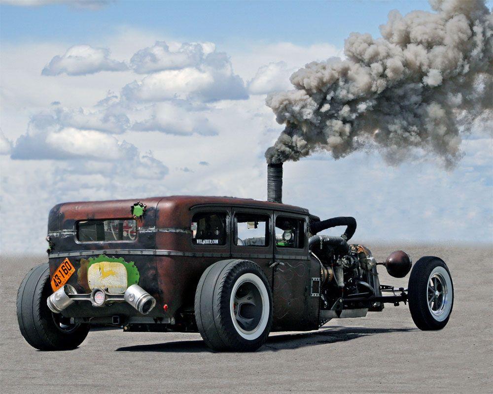 Welderups Diesel Rod smokin'