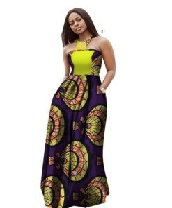 c1a14c118a2 Ankara African Summer Maxi Dresses 2018 Style African Dresses for Women  Vestidos African Clothing Dashiki Plus Size Party Dresses