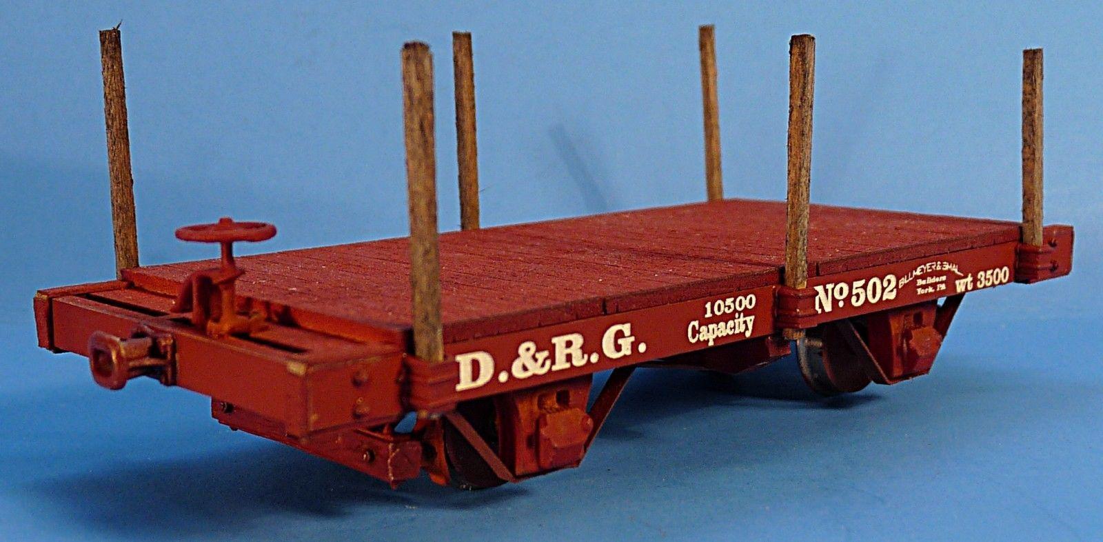 Narrow Gauge 180509: On3 On30 Silver City Models Dandrgw