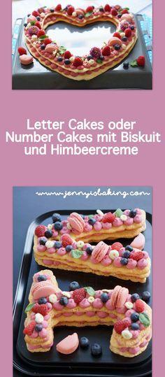 Warum ich den Letter Cakes doch noch mal eine Chance gab - Jenny is baking