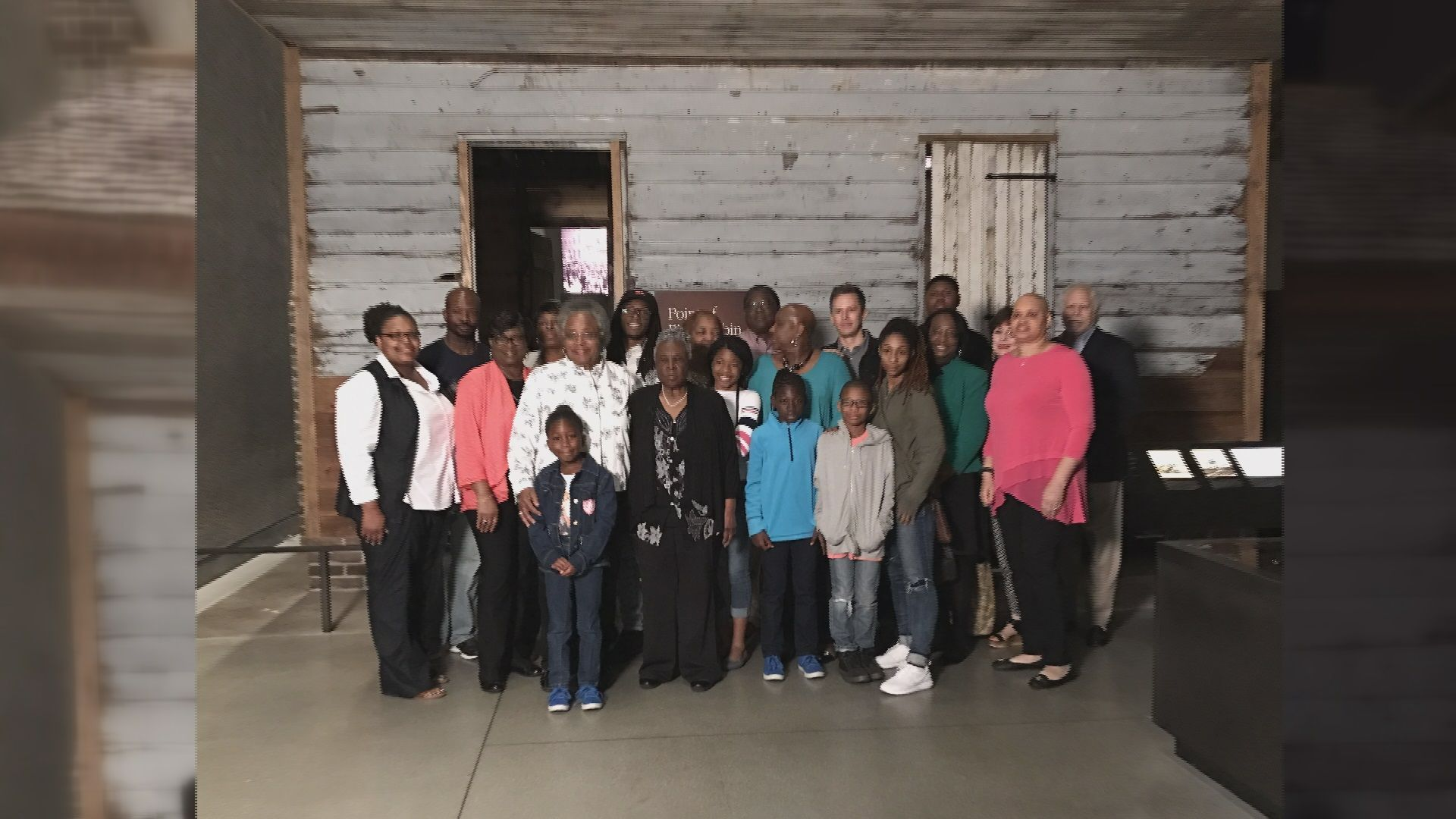 It's considered one of the oldest and best preserved slave cabins of the country. It's not only a piece of history but a story of community and that's what caught the Museum's attention.