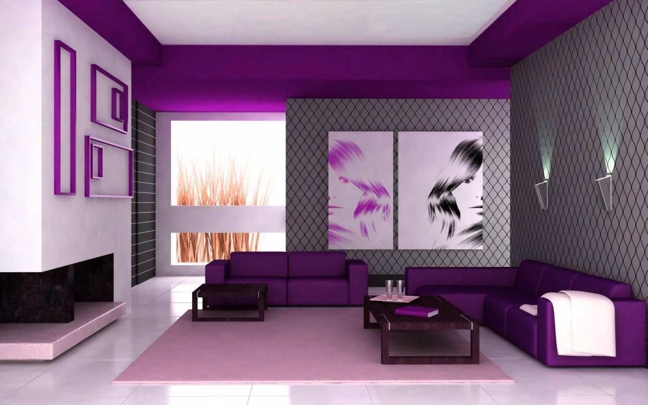Beautiful Déco Salon Violet Et Gris | Salon | Pinterest | Salons, Salon Gris And Salon  Ideas