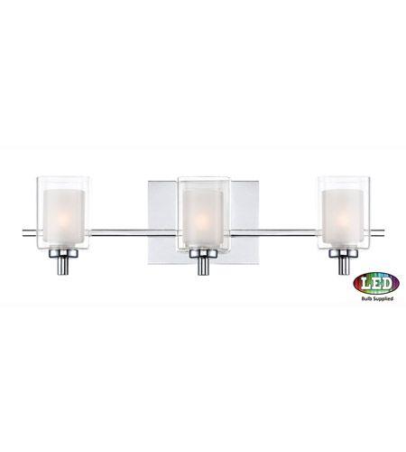 Kolt Led 21 Inch Polished Chrome Bath Light Wall Light Bathroom Light Fixtures Chrome Vanity Lighting Vanity Light Fixtures