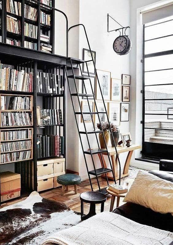 Kitap Okumayı Ne Kadar Özlediğinizi Hatırlatacak Kadar Huzurlu 18 Ev Kütüphanesi #homedécoraccessories