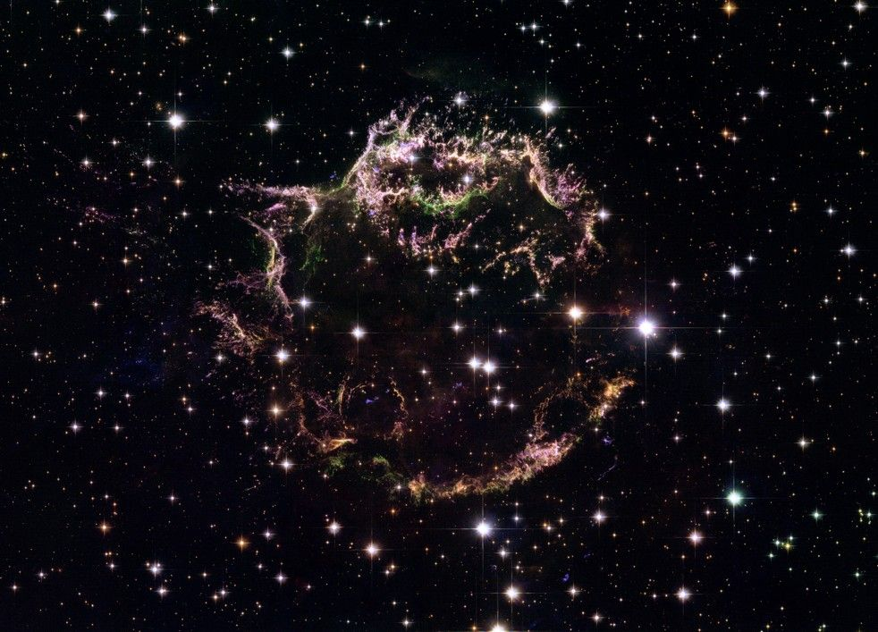 WHAT'S LEFT AFTER A STAR BLOWS UP? The spectacular aftermath of a supernova was just seen at its earliest stage ever