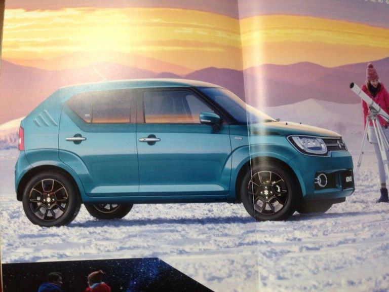 New Suzuki Ignis Brochure Scans Surface Ahead Of Launch Product