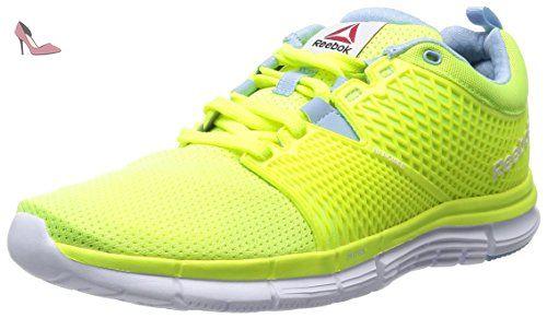 Reebok ZSTRIKE ELITE Chaussures de course Homme - black-solar green-bright  green-white - 44 EU - Chaussures reebok (*Partner-Link) | Pinterest | Reebok,  ...