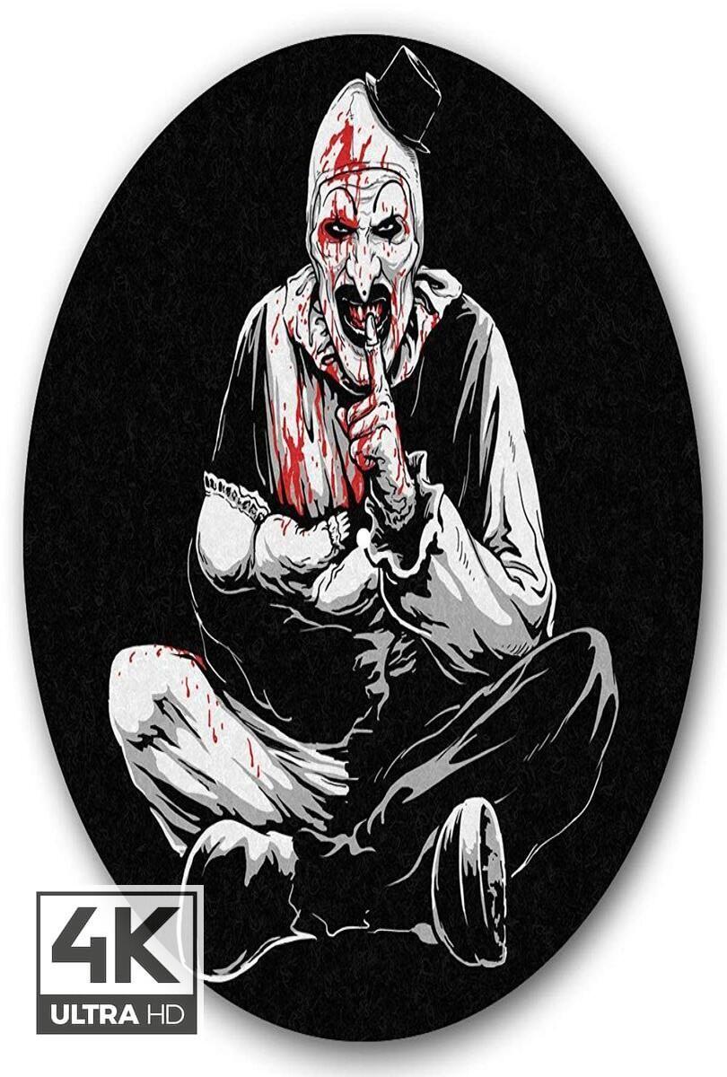 Download Free Terrifier 2 2020 4k Watch Download Terrifier 2 2020 Clown Horror Horror Movie Tattoos Horror Artwork