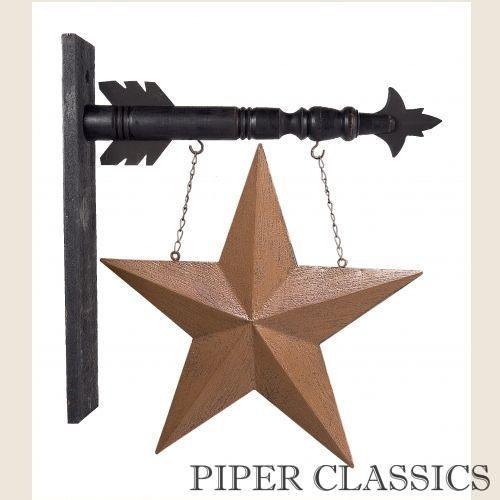Hanging Sign - Tin Star | Patriotic Decor | Pinterest | Tin star ...