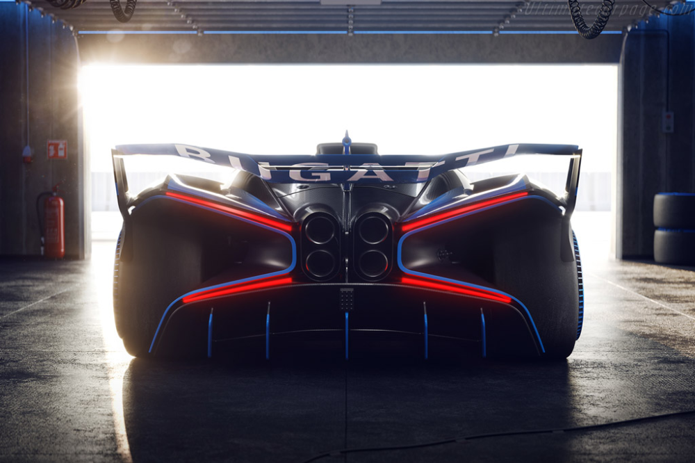 Bugatti Bolide Supercar Design Sportivo Bugatti