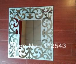 decorative mirror  flower art wall mirror Engraved Mirror home decoration mirror design wall - http://www.aliexpress.com/item/decorative-mirror-flower-art-wall-mirror-Engraved-Mirror-home-decoration-mirror-design-wall/1150106406.html