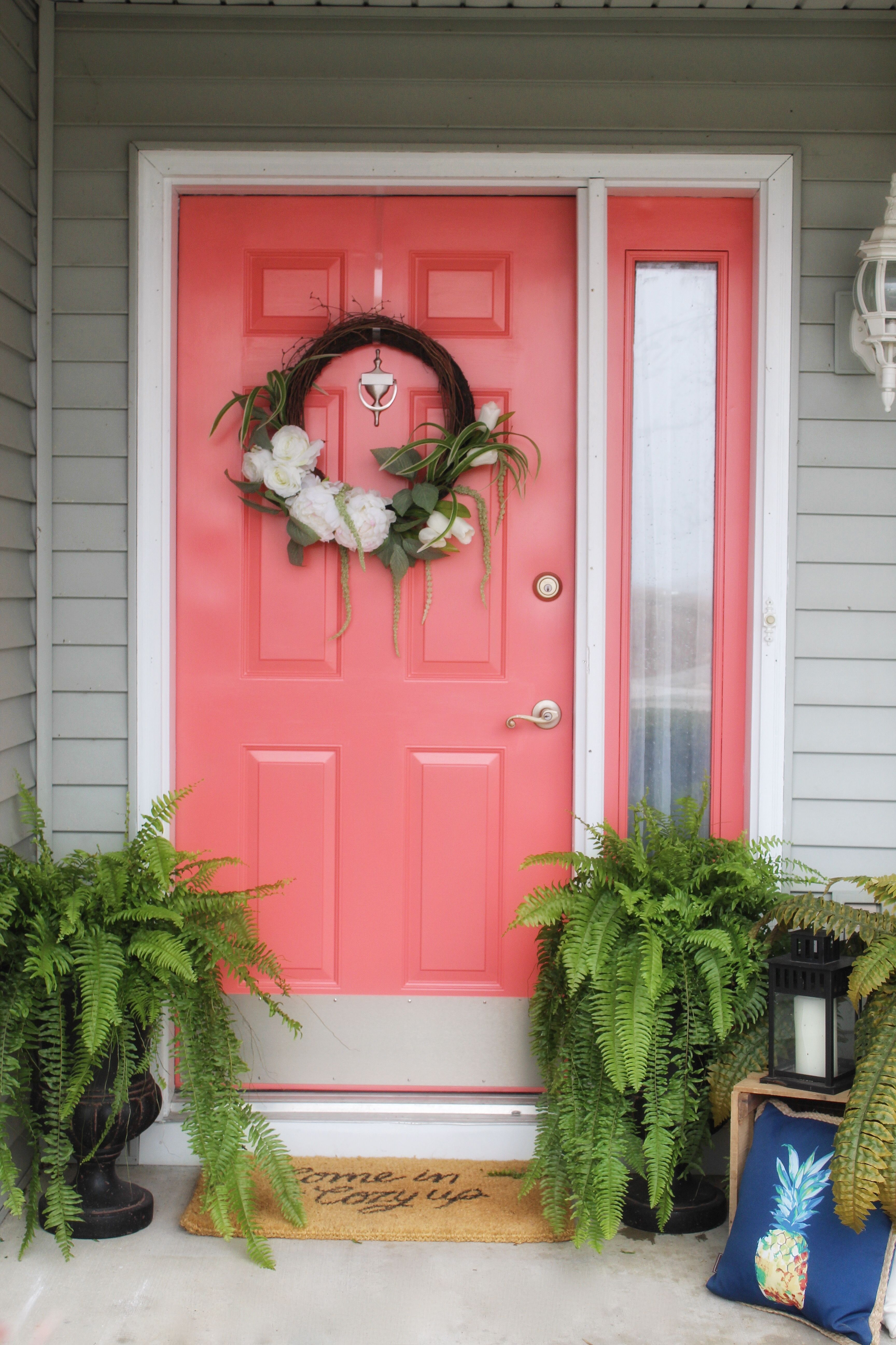 Front Door Makeover with DecoArt | Ideas for the House | Pinterest ...