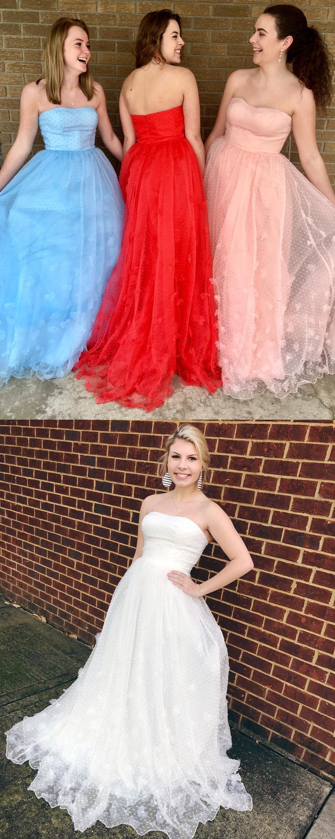 Prom dress long prom dress strapless prom dress prom dress