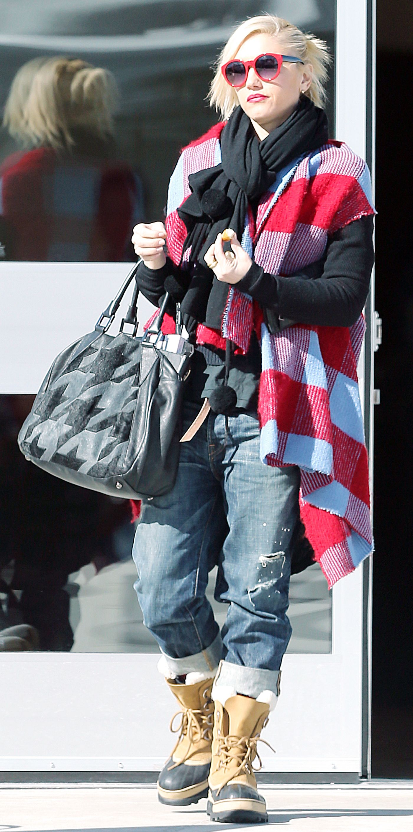 41ef4d1f84a Celebrities Love Their Sorel Boots - Gwen Stefani from InStyle.com