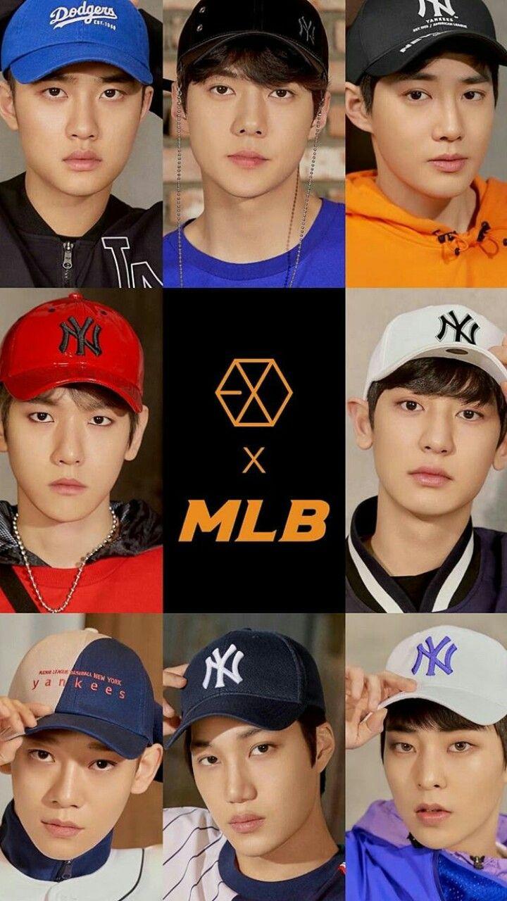 Exo X Mlb korea  1c5cdcaebc1