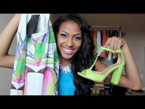 Fashion Haul   What's new in my wardrobe .. - YouTube
