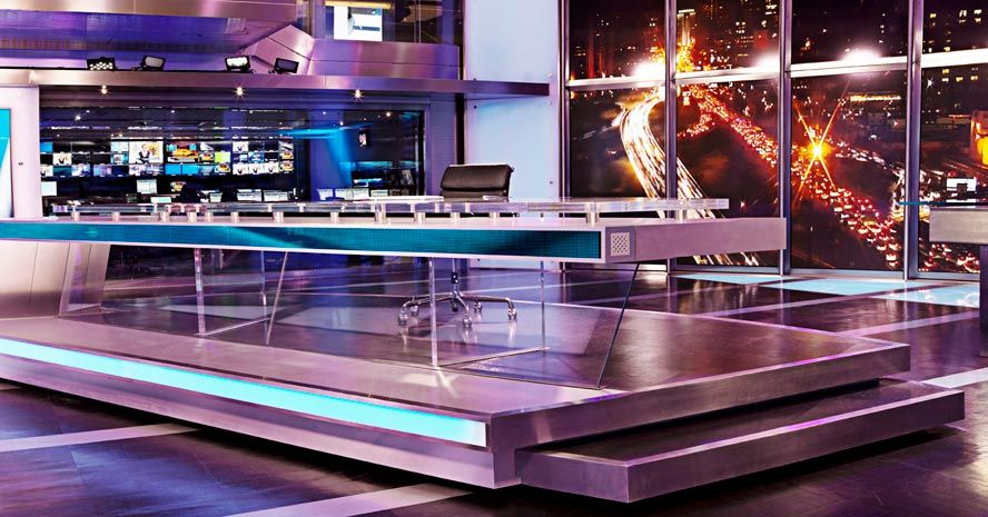 tv set ntv istanbul turke broadcast design pinterest design tv set design e stage design. Black Bedroom Furniture Sets. Home Design Ideas