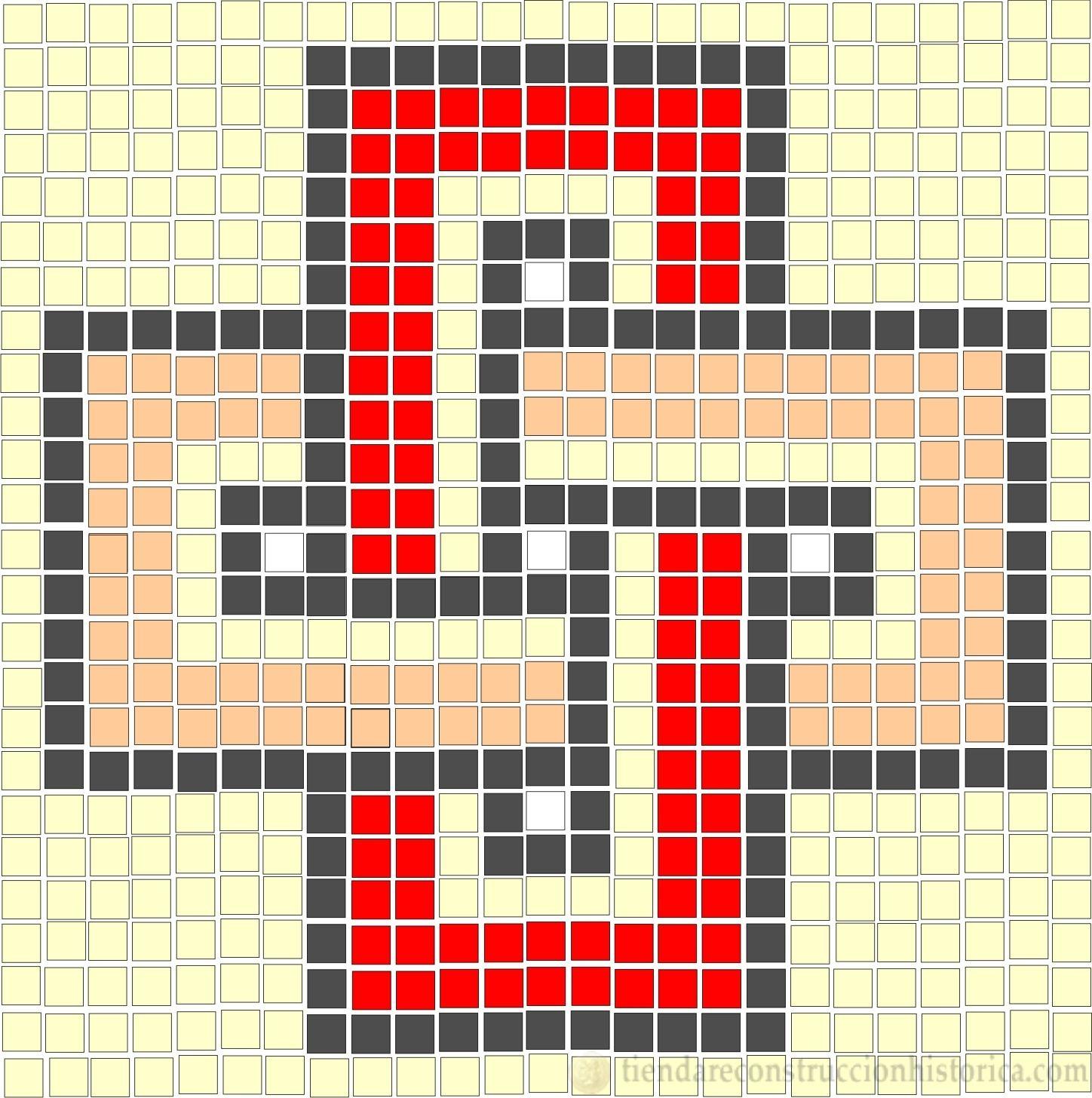 Plantillas para Mosaico Romano - Tienda de Reconstrucción Histórica ...
