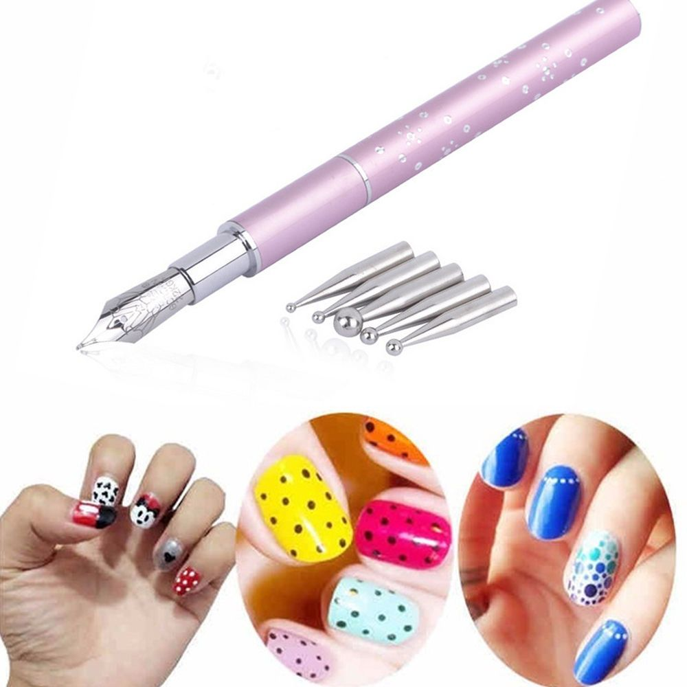 1Pc Design Painting Pen Nail Art Set For Salon Manicure DIY Tools ...