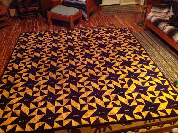 If you\'ve been quilting long enough, chances are you\'ve probably come across a Crown Royal quilt or two.